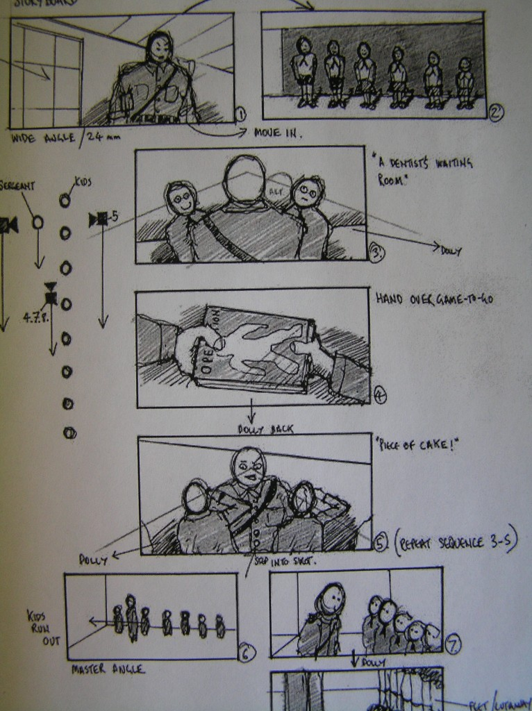 Production Story Boards