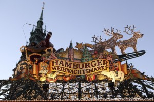Christmas markets in Hamburg, Germany